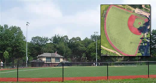 turf baseball field